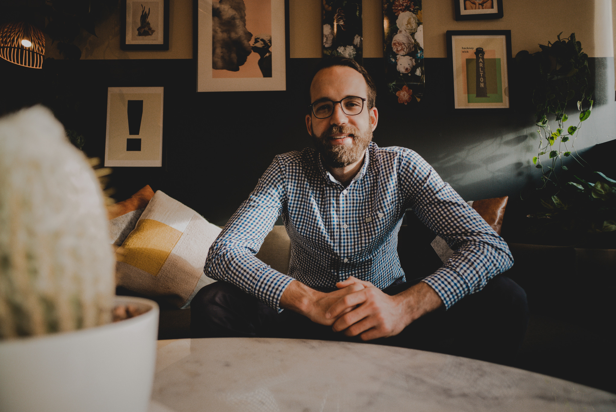 ALIVE Boutique founder Lucas Windhager